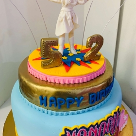 2D and 3D Cakes Gallery